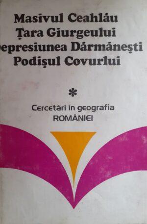 Cercetari in geografia Romaniei