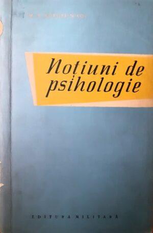 M. P. Korobeinikov Notiuni de psihologie