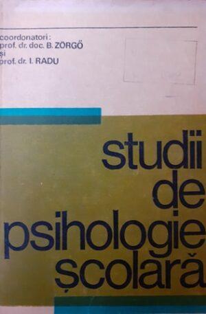 B. Zorgo, I. Radu Studii de psihologie scolara