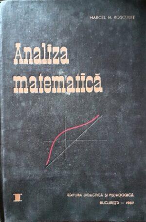 Marcel Rosculet Analiza matematica