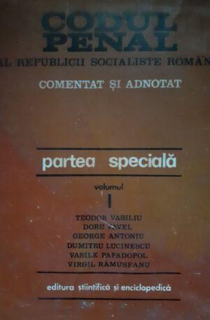 Codul penal al Republicii Socialiste Romania,