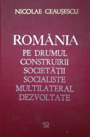 Romania pe drumul construitii societatii socialiste multilateral dezvoltate