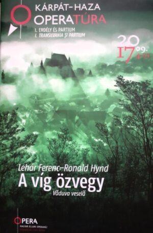 Lehar Ferenc, Ronald Hynd A vig ozvegy