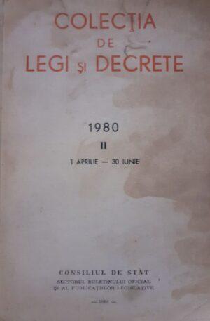 Colectia de legi si decrete 1980, vol. 2