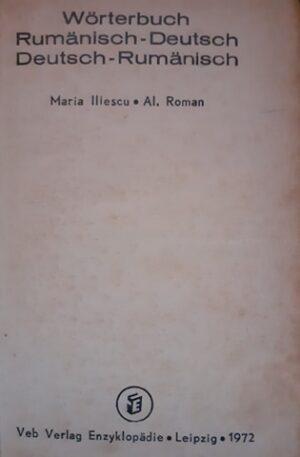 Worterbuch Rumanisch-Deutsch, Deutsch-Rumanisch