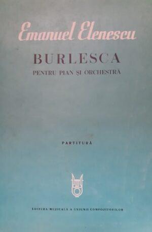 Emanuel Elenescu Burlesca pentru pian si orchestra