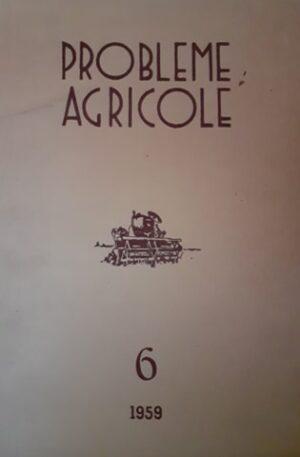 Probleme agricole, vol. 6