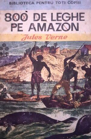 Jules Verne 800 de leghe pe Amazon