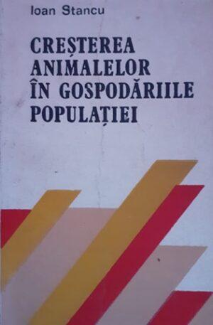 Ioan Stancu Cresterea animalelor in gospodariile populatiei