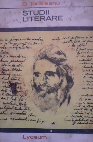 G. Ibraileanu Studii literare