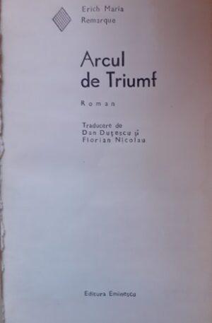 Erich Maria Remarque Arcul de triumf