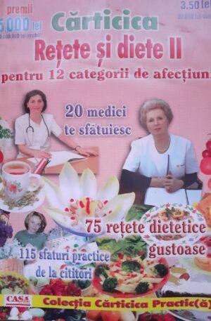 Carticica Retete si Diete II Pentru 12 categorii de afectiiuni