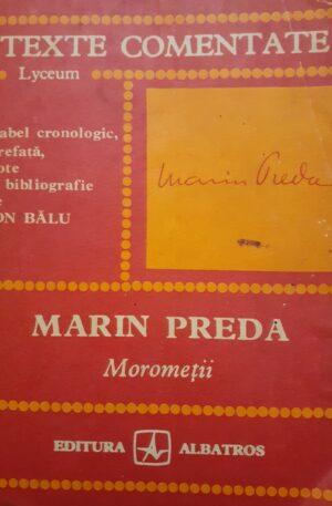 Marin Preda Morometii