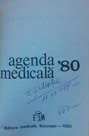 Agenda medicala '80
