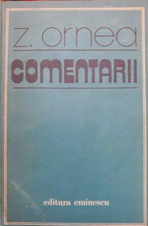 Z. Ornea - Comentarii