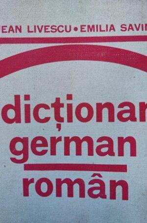 Jean Livescu, Emilia Savin Dictionar german-roman