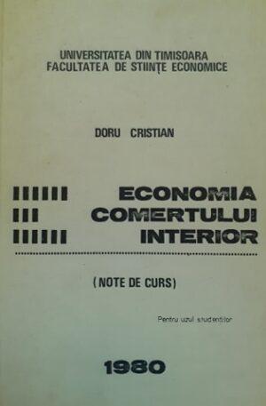Doru Cristian Economia comertului interior