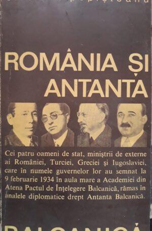 Cristian Popisteanu Romania si Antanta Balcanica