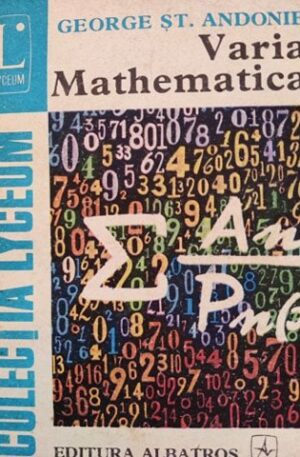 George St. Andonie Varia mathematica