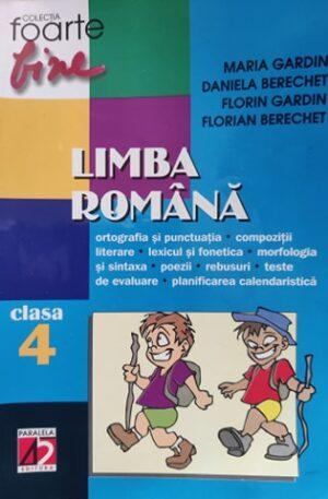 Limba romana, clasa 4