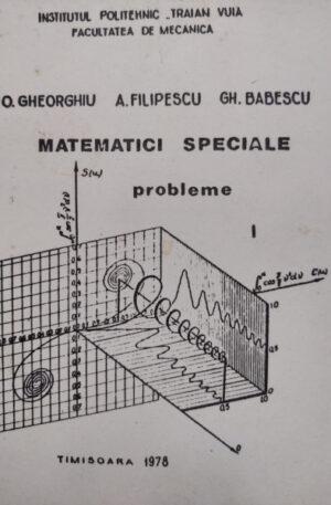 Matematici speciale. Probleme, vol. 1