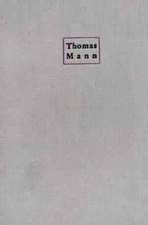 Thomas Mann Lotte la Weimar