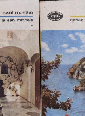 Axel Munthe Cartea de la San Michele (2 volume)