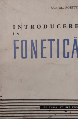 Al. Rosetti Introducere in fonetica