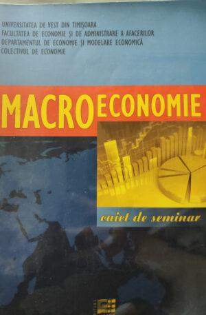 Macroeconomie. Caiet de seminar