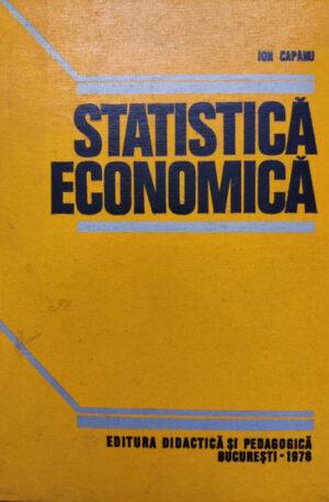 Ion Capanu Statistica economica
