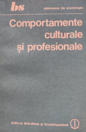 Comportamente culturale si profesionale